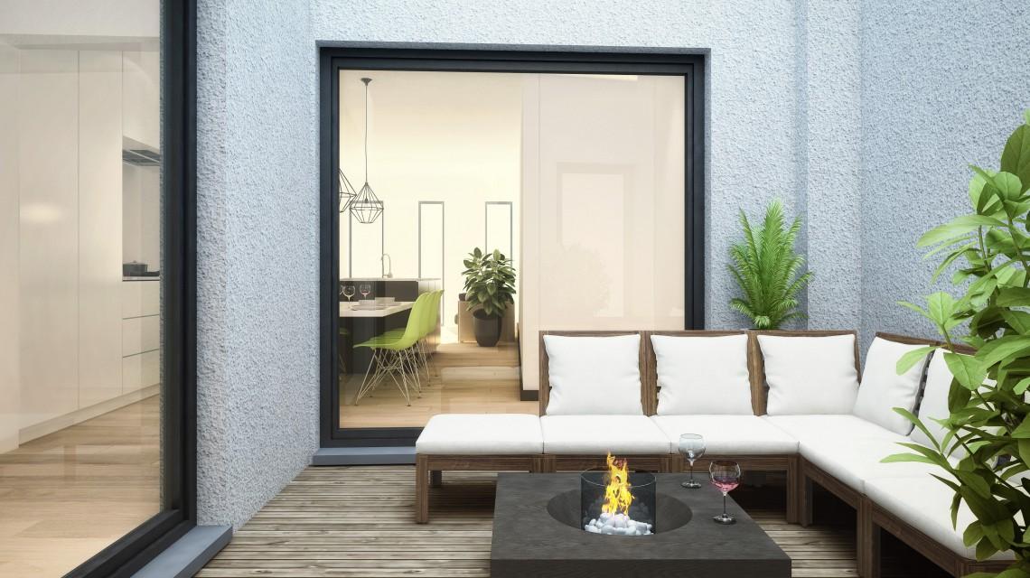 Interieur app gelijkvloers B 205.10.25