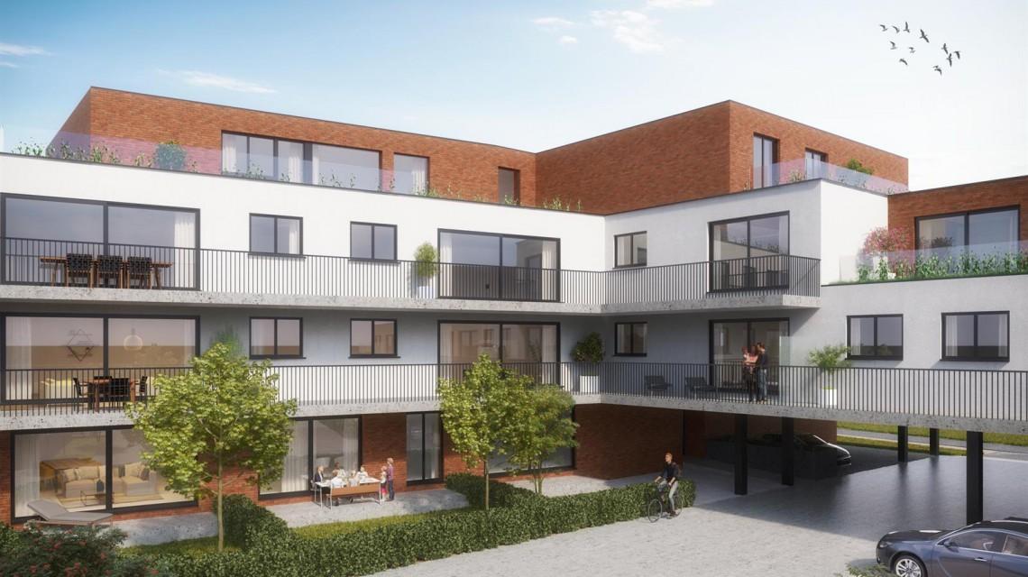 Hundelgemsesteenweg meergezinswoning appartementen architect gent