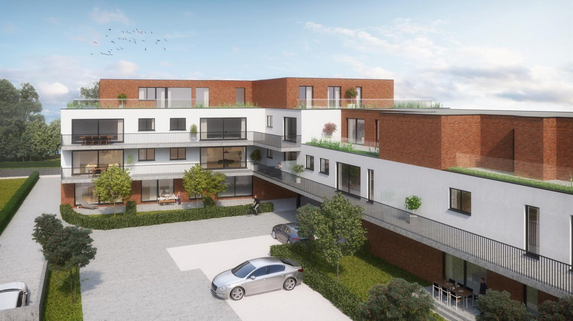 Hundelgemsesteenweg meergezinswoning appartementen architect gent 3