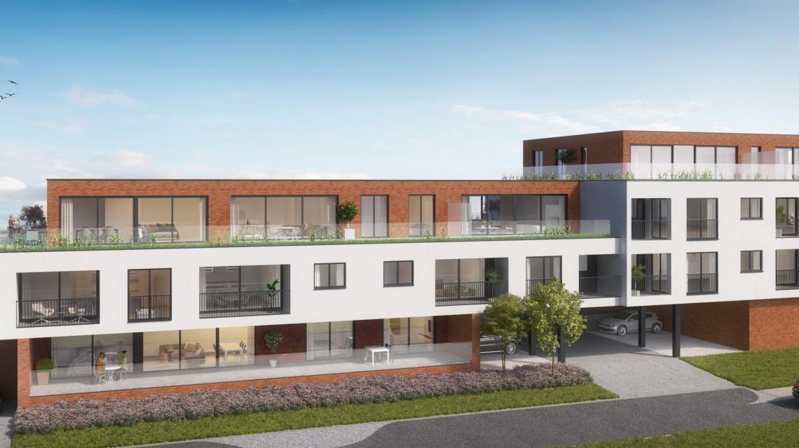 Hundelgemsesteenweg meergezinswoning appartementen architect gent 4